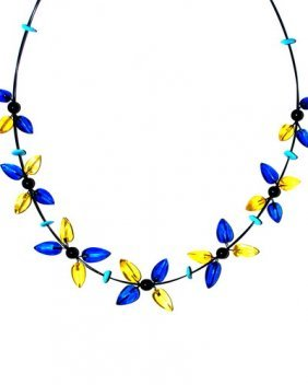 Night Magic String From Blue And Yellow Caribbean