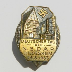 Iii Reich Medal Gau Day - N.s.d.a.p. Day At Hilde