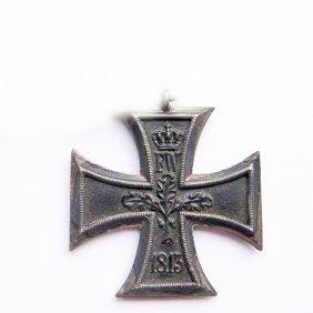 First World War Medal Iron Cross. Second Class