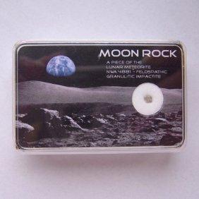 Moon Rock Meteorite - Box