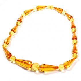 Adorable Jewelry Hand Made From Light Color Facet