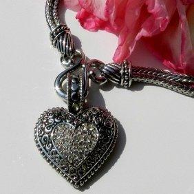 Lia Sophia Design Necklace With Heart Form Penda