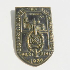 Iii Reich Medal To Honor Wwi Soldiers 1936
