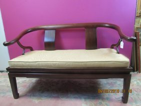 Rosewood Twin Arm Love-seat