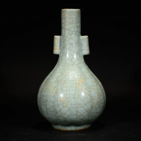 A Guan Ware Type Vase