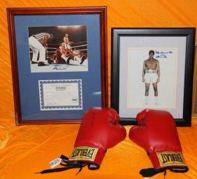 Muhammad Ali Signature Boxing Glove