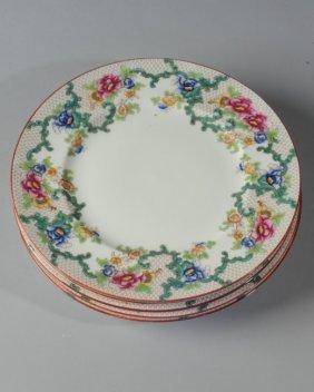 Seven Cauldon England Dinner Plates