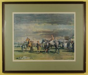 Alfred James Munnings (1878-1959) Chromolithograph