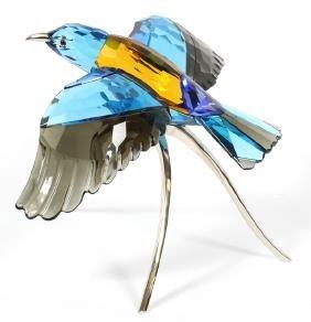 Swarovski Crystal Bird In Flight