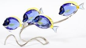 Swarovski Crystal Fish Sculpture