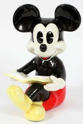 Walt Disney Porcelain Mickey Mouse