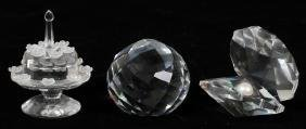 Swarovski Crystal Collection Three Pieces