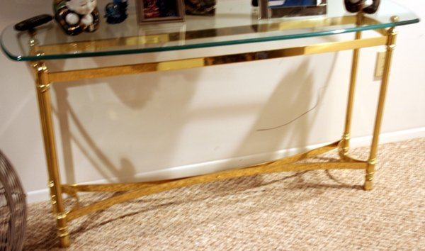brass glass sofa tables 3