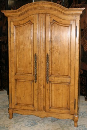 021229 country french walnut armoire guy chaddock co for M furniture gallery new orleans