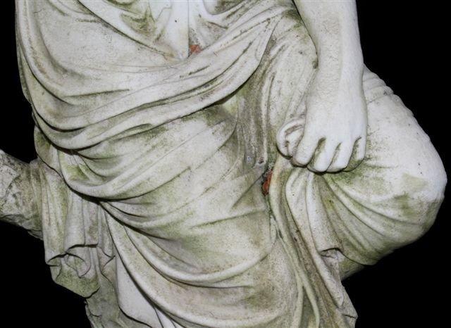 V. CARADOSSI CARVED CARRARA MARBLE SCULPTURE 83