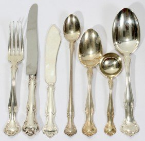 GORHAM 'CROMWELL' STERLING SILVER FLATWARE