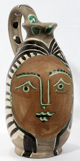 AFTER PABLO PICASSO POTTERY PITCHER