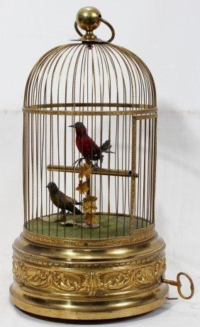FRENCH  SINGING BIRDS AUTOMATON
