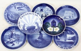 ROYAL COPENHAGEN PORCELAIN COMMEMORATIVE AND