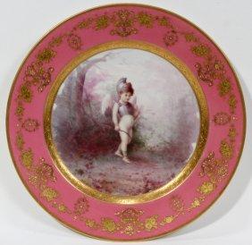 LENOX PORCELAIN CABINET PLATE BY HANS NOSEK