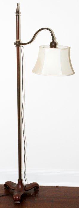 handel bronze floor lamp base lot 12289. Black Bedroom Furniture Sets. Home Design Ideas