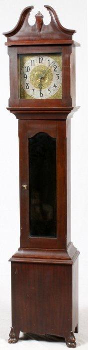 Mahogany Tall Case Clock C.1920
