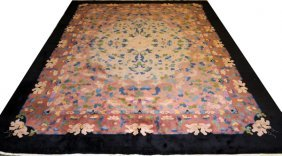 Chinese Art Deco Style Carpet