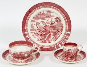 Copeland Spode Mandarin Porcelain Tea & Coffee Set