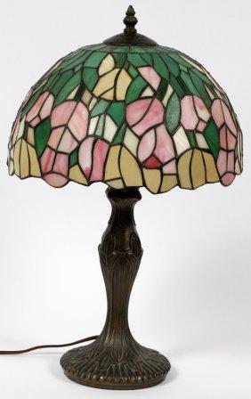 Tiffany Style Boudoir Lamp