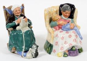 Royal Doulton Porcelain Figurines, 1970