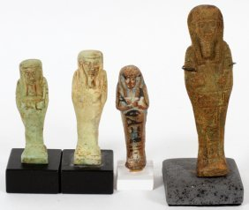 Egyptian Stone Figures Four