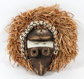 Carved Wood Mask