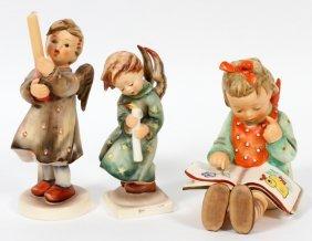 Hummel Bisque Figures, Three