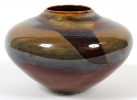 David Greenbaum Art Pottery Vessel