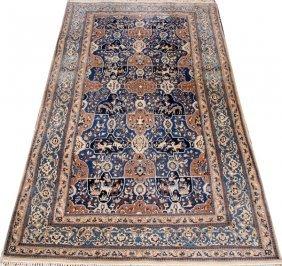 Nain Persian Wool & Silk Very Fine Rug