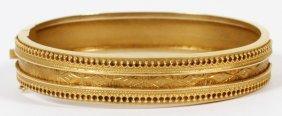 15kt Yellow Gold Bangle Bracelet