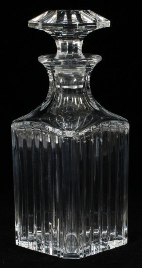 Baccarat 'harmonie' Crystal Whiskey Decanter