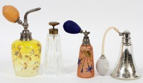 Bohemian & Other Glass Perfumes, Four