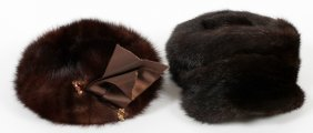 Walton Pierce Mink Hats, Two