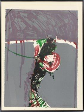 Fritz Scholder Lithograph 1981