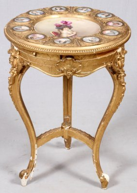 """Austrian """"duchesse Du Maine"""" Portrait Table"""