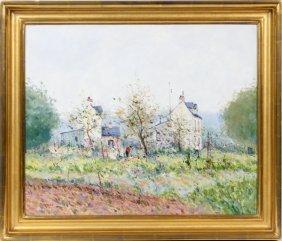 Jean Pierre Dubord Oil On Canvas