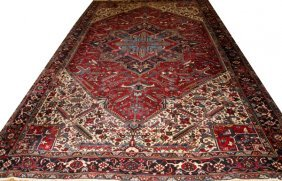 Persian Herez Oriental Carpet