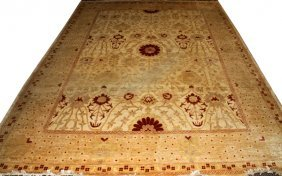 Chinese Hand Loomed Wool Rug