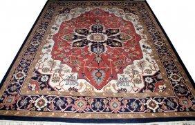 Persian Tabriz Wool Carpet