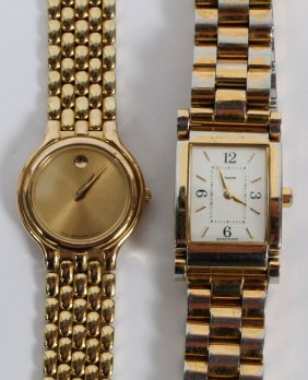 Lady's Movado & Coach Wristwatches, 2