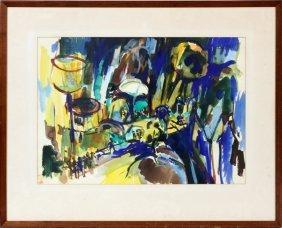 Marilyn Derwenskus Watercolor