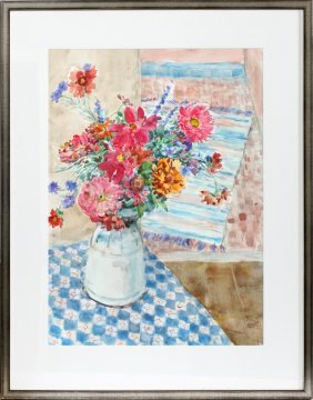 Marjorie Hecht Watercolor