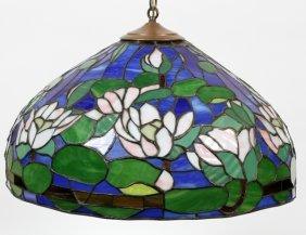 Tiffany Style Three-light Hanging Lamp