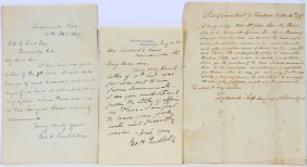 Hand Written Deeds, Land Grants And Legal Documents